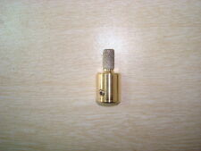 1/4 FAST COARSE STAINED GLASS GRINDER BIT HEAD TOP QUALITY BRASS UNIVERSAL FIT