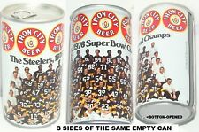 1976 PITTSBURGH STEELERS BIG TEAM PHOTO PORTRAIT BEER CAN FOOTBALL NFL PA SPORTS