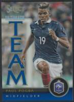 2015 Panini Select Ultimate Team Blue #13 Paul Pogba 207/299