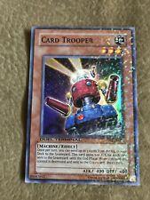 YUGIOH CARD TROOPER SUPER RARE DT02-EN057 DUEL TERMINAL  NEAR MINT