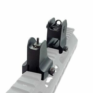 Tactical Rail Mount Fixed Front Iron Sight Weaver Picatinny 20mm Rail Sight Airs