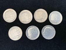 7 pc 1936 LONG ISLAND COMMEMORATIVE HALF DOLLAR 50C UNC