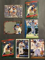 Mike Piazza 6 Baseball Cards Los Angeles Dodgers Inserts Rookies Post Upper Deck
