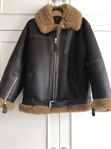 Genuine Irvin RAF Aviation Leathercraft Sheepskin Flying  Jacket
