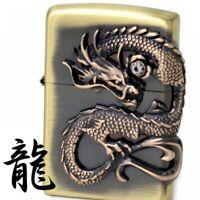 Zippo Dragon Beautiful Design Japanese Collection Japan F/S Tracking RARE