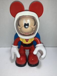 Mickey Mouse Jet Pack Astronaut Space Toy 2010 Disney Mattel Works!