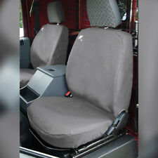 Land Rover Defender Waterproof Seat Covers Grey -  Front Row 3 Seats DA2815GREY