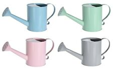 Pastel Colour Small Metal Watering Can 900ml Retro Watering can