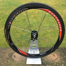 BONTRAGER HCM CARBON WHEEL CYCLEOPS SL+ POWERTAP CARBON HUB TUFO S33 PRO TUBULAR