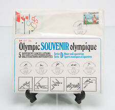Canada Montreal Olympics 1976 - 5 Stamp Souvenir Set - Sports Series D