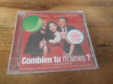 CD OST Soundtrack - B.Blier : Combien Tu M'Aimes (15 Song) VIRGIN CLASSIC jc OVP