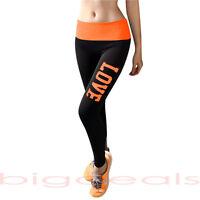 Rolldown Love Yoga Pants Leggings Foldover Ankle Low Rise Bottom Lounge Stretch