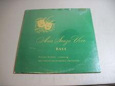 Aria Senza Voce-Bass-Edward Downes-LP Audio Spectrum SASV 508 Sealed