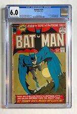 BATMAN # 241 - CGC 6.0 - Iconic Neal Adams Cover!  1972 🔑