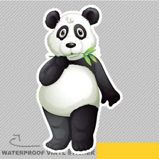 Cute Panda Cartoon Bear Animal Gras Vinyl Sticker Decal Window Car Van Bike 1996
