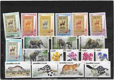 THAILANDE N°1410 A 1428  NEUF**