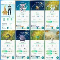 Pokemon Account Go Level 33 | 43 Shiny | 99 Legendary(Rare) | 73 Iv100 (Rare)