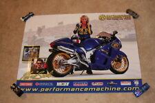 2007 Geno Scali Performance Machine Grid Girl Suzuki PS Motorcycle NHRA poster