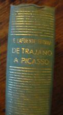 De Trajano A Picasso 1962 First Ferrari Ensayos Spanish Free US Shipping Art