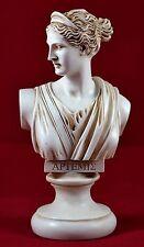 artemis diana bust greek statue nature moon goddess patina colour NEW