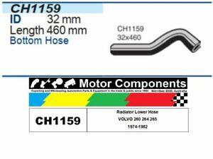 Radiator Lower Hose CH1159 FOR VOLVO 260 1974-1982