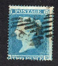 Qv 1854-57 Sg 20 Sc perf 16 - 2d blue plate 4 ( P D )