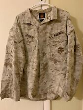 USMC Digital Desert Camo Women's Small Shirt American Apparel