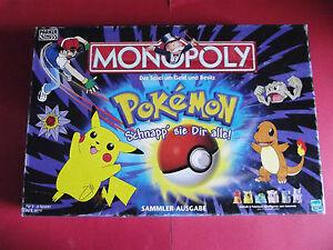 Ersatzteile für * Monopoly Pokémon * von Parker