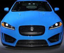 Black Front Grille Jaguar XF Honeycomb mesh 2011-15 estate saloon X250 XFR-S
