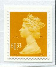 SG U2934a. £1.33 Orange-Yellow. No Source Code with Date Code Security Machin