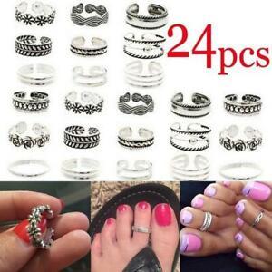 Alloy Retro Adjustable Open Toe Rings Finger Beach Foot Jewelry Fashion Toe Ring