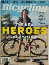 Bicycling July 2016 The New Heroes Of Cycling Mountain Bikes FREE SHIPPING sb