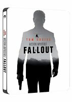 Mission Impossible : Fallout - Blu-Ray Disc + Bonus Disc - SteelBook - Nuovoi
