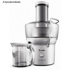 Fruit Vegetable Juicer Compact Breville Silver Fountain 700 Watt Speed Extractor