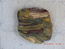 Banded Jasper Rough for Cabbing
