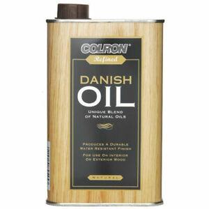 Colron Refined Natural Danish Oil  - 500ml