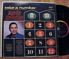 RARE: Mavis Rivers debut – TAKE A NUMBER – Capitol T-1210 Side-Logo Original
