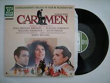 Bizet - CARMEN (Excerpts) Maazel, Placido Domingo, Erato NUM75120 French LP Ex