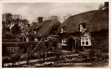 Beech, Alton. Old Cottages # G.4624 by Valentine's.