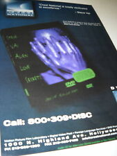 Steve Vai Purple Aliens Hands 1998 Promo Only Advert
