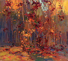 Maple Saplings, October    by Tom Thomson  Paper Print Repro