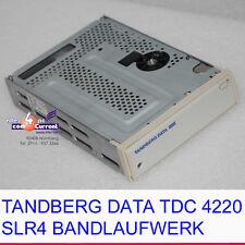 TANDBERG DATA TDC 4220 SLR4 2.5GB BANDLAUFWERK 50-POL SCSI TAPE DRIVE OK #K553