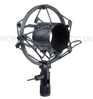 Anti Vibration Microphone Holder / Cradle / Shockmount SMALL 45mm-51mm