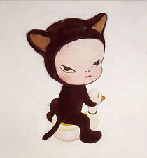 Oil painting Reproduction Yoshitomo Nara Harmless Kitty made to order