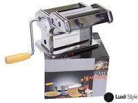"""6"""" Pasta Maker Machine Spaghetti Fettuccine Lasagna Healthy Homemade Noodle"""