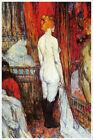 Henri de Toulouse Lautrec Fine Art Poster Print Femme Nue Devant une Glace