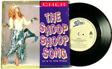 "CHER  THE SHOOP SHOOP SONG + BABY I'M YOURS  7"" RECORD 1991 UK 1ST EDITION  RARE"