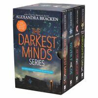 NEW The Darkest Minds 4 Books Collection Series Alexandra Bracken Boxed Gift Set