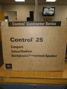 JBL Control 25 Compact Loudspeaker (Indoor/Outdoor)