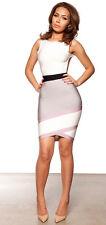 HOUSE OF CB 'Jasmine' Grey Backless Bandage Dress 'FAULTY' SS 7623